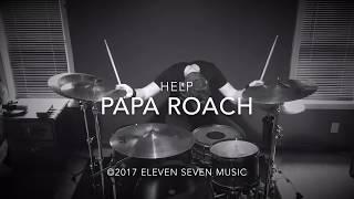 Papa Roach | Help | Drum Cover By Sam Widrick