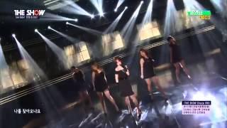 150512 ELSIE (Eunjung 은정) - Tears Drop (눈물비) @ The Show