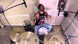 David Montgomery - Machine Gun Kelly - Bad Mother F*cker (Feat.Kid Rock) Drum Cover
