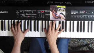 Phil Collins - Against All Odds (cover on piano)