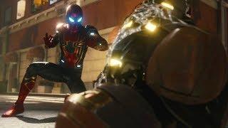 Marvel's Spider Man (PS4) - Shocker Boss Battle #1 Gameplay (1080p)