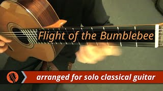 N. Rimsky-Korsakov - Flight of the Bumblebee, arranged for Classical Guitar