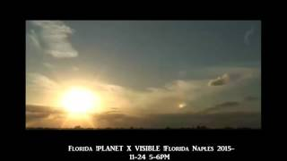 Florida !PLANET X VISIBLE !Florida Naples 2015.11.24 5- 6PM