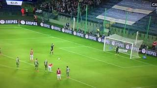 Nie wykorzystany rzut karny Wisła Kraków - Legia Warszawa