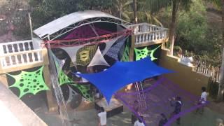 David Kabayun at monster dance festival Goa