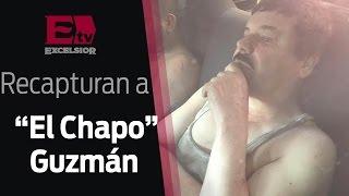 """Recaptura de """"El Chapo"""" Guzmán, revelan primeras imágenes / 08 de enero 2016"""