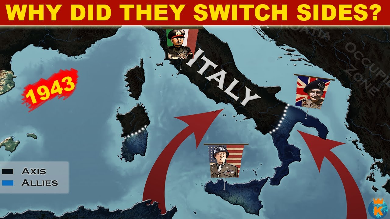 Why did Italy Switch sides in WW2?