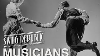 [ Electro ] SWING REPUBLIC - Musicians - Lyric Video - electro swing 2017