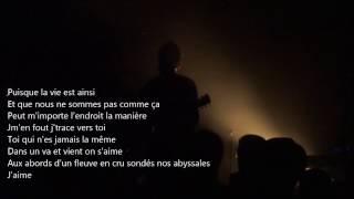 """ROMAIN HUMEAU  [EIFFEL] """"Toi"""" avec paroles - live@l'Ubu Rennes 2016"""