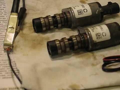 Магнитный клапан двигатель Z18XER (Опель, Шевроле...) звук дизеления
