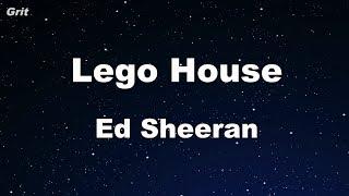 Lego House - Ed Sheeran Karaoke 【No Guide Melody】 Instrumental