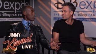 Don Cheadle's Reaction to Mark Ruffalo Spoiling Avengers width=