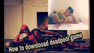 How to download deadpool game in android ( mt means mt gaming) only 50 mb in hindi