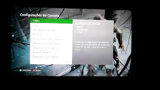 Como Melhorar a Qualidade de Imagem do XBOX 360 (em TVs FullHD e HD)