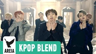 BTS MASHUP 5 in 1! Blood Sweat & Tears x Fire x Dope x Danger x Save Me | Areia Blend #8