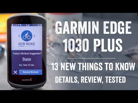 Garmin Edge 1030 Plus Review: 13 New Things To Know!
