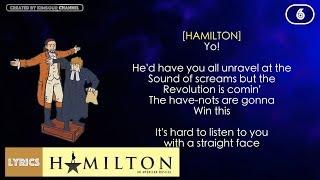 #6 Hamilton - Farmer Refuted (VIDEO LYRICS)