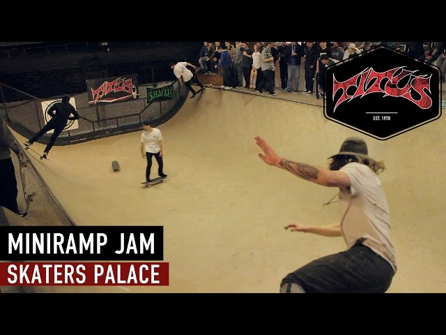 Vídeo en el Skaters Palace, en Münster