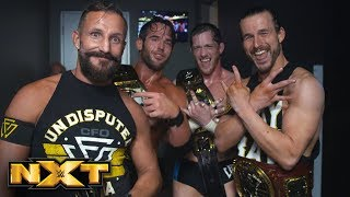 Undisputed ERA crow about their NXT Tag Team Title victory: NXT Exclusive, July 11, 2018