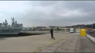 FALHA durante a apresentação de drone da Marinha Portuguesa