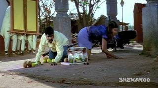 Love Story 1999 Comedy Scenes - Rambha and Prabhu Deva search for the lost fruits