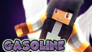 Minecraft Diaries//Gasoline//Music Video