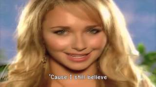 Hayden Panettiere - I Still believe (Lyrics) 720HD