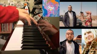 Travie McCoy - Golden Ft. Sia (Amosdoll Piano Cover)