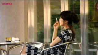 Jin Seo-yeon smoking in Temptation of Eve: Good Wife #1