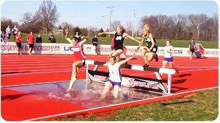 Track and Field Steeplechase Fail | High School Memories