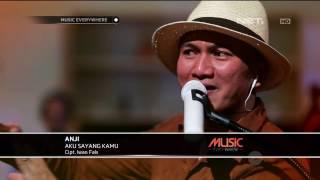 Anji - Aku Sayang Kamu - Tribute to Iwan Fals (Live at Music Everywhere) **