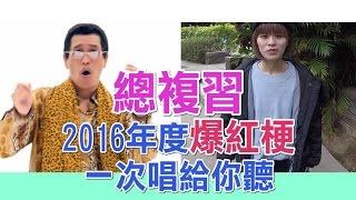岑霏Fei Fei —「2016流行用語總複習(自創曲)藍瘦香菇、大平台、寶可夢....等」