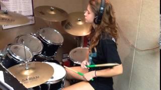Kirsten Fall out Boy   Uma Thurman Drum Cover