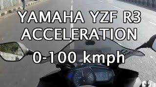 Yamaha R3 Acceleration Video