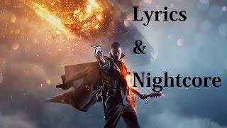 Battlefield 1 - Theme song [Nightcore Lyric Version]