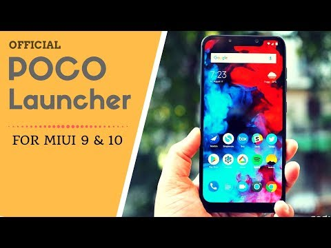Download thumbnail for Poco Launcher   Officially Released