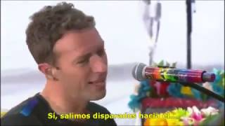 COLDPLAY -  Hymn for the weekend (TRADUCIDA ESPAÑOL)
