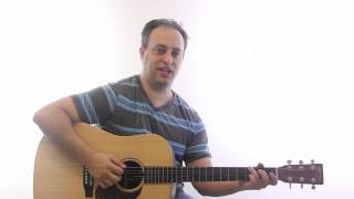 Rhythm Guitar Lesson - Learn How to Play Country Blues Guitar