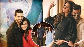 Angad Bedi admits that Neha Dhupia was pregnant before marriage