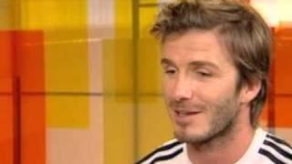David Beckham talking about Iker Casillas.