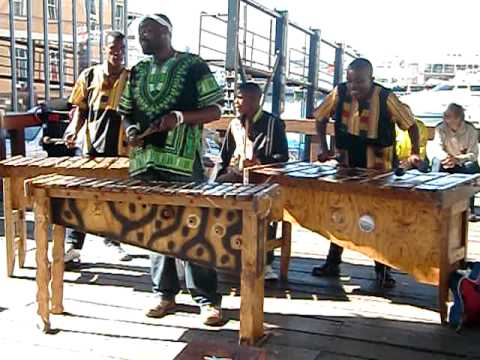 Live Music at the Waterfront, Cape Town, South Africa