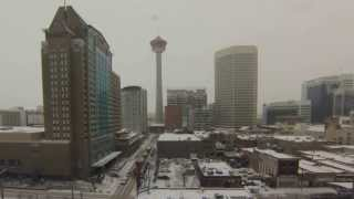 Calgary Tower - Warm to Winter