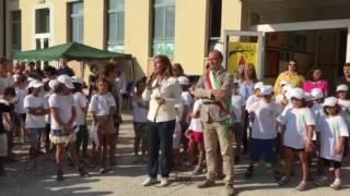 Alla scuola elementare di Campese (Vi) per inaugurare l'anno scolastico 2016-2017