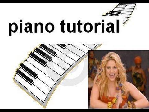 Comment jouer Waka Waka de Shakira au piano (2ème méthode)