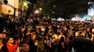 Manifestaciòn en Culiacân Sinaloa piden la liberación de Joaquîn el chapo Guzmân