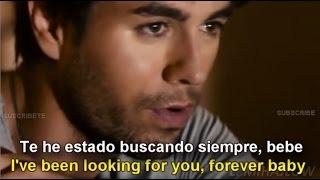 Enrique Iglesias - Finally Found You [Lyrics English - Subtitulada en Español]