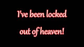 Glee - Locked Out Of Heaven (Lyrics) HD