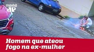 Homem que ateou fogo na ex-mulher, no ABC Paulista, continua foragido