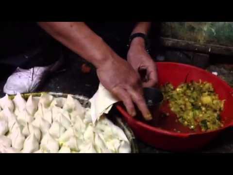 Making Samosa, Nepal