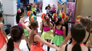 Latin Zumba performance at Rashay's Family Fun day